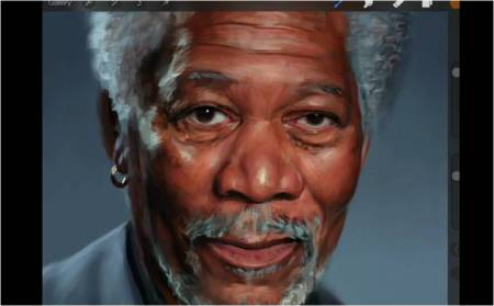 iPadArt_Procreate_MorganFreeman