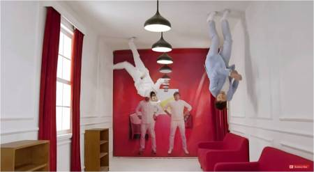 RedStarMacalline_OK Go commercial