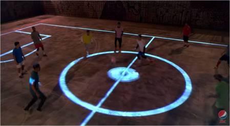 PepsiMAX_Drone Football