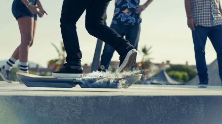 The Lexus Hoverboard_Slide_It's here