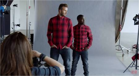 H&M_David Beckham + Kevin Hart