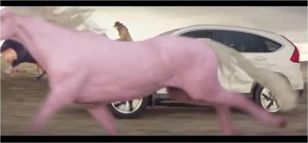 Honda CR-V SeriesII_Pink Horse