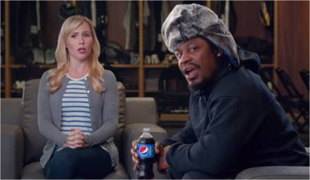 Pepsi_Marshawn Lynch_Unlikely Spokesperson