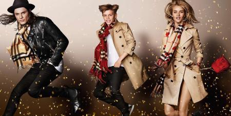 Burberry 2015 festive campaign