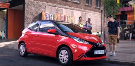 Toyota Aygo_Make your mark_South Africa