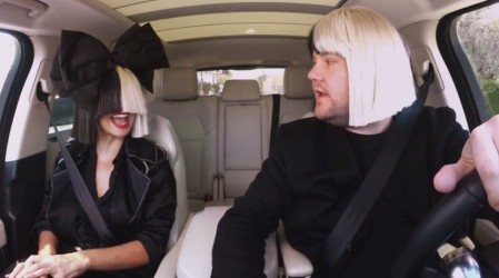 Carpool Karaoke_James Corden & Sia