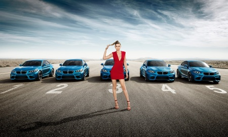 BMW M2_Eyes on Gigi Hadid