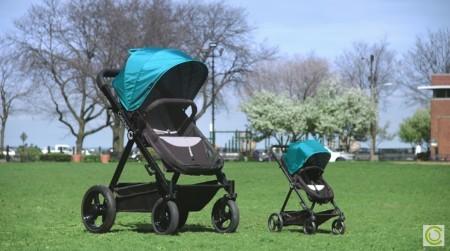 Kolcraft-Contours Bliss_Baby stroller-test-ride