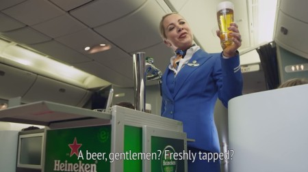 KLM + Heineken_The Unexpected
